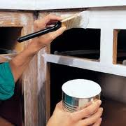 Painting kitchen cabinet doors